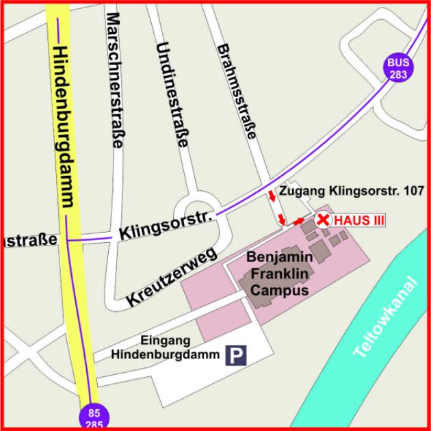 Anfahrt zum Berliner Leberring e.V.