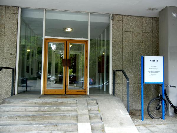 Berliner Leberring e.V. Eingang