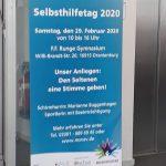 Selbsthilfetag 2020 in Oranienburg im Runge Gymnasium
